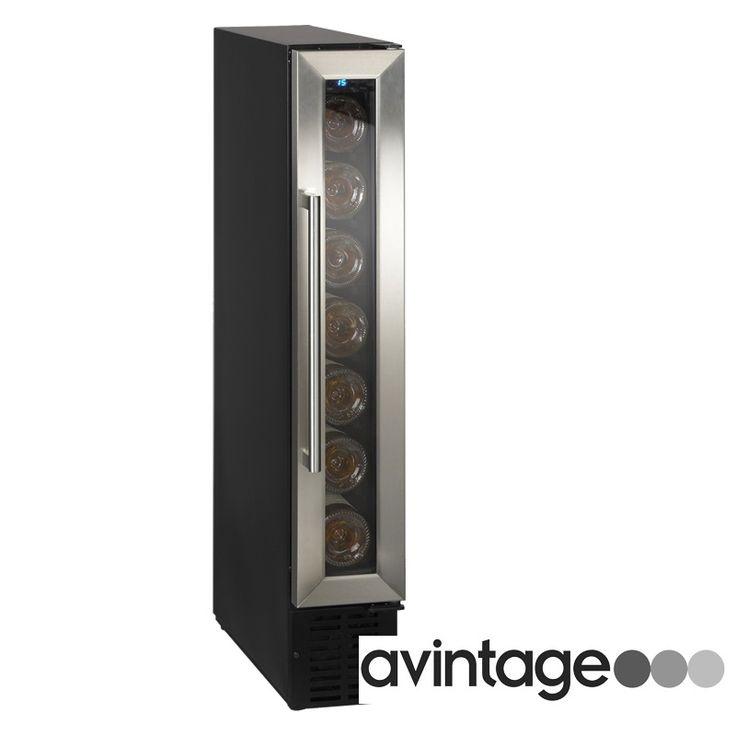 La vinoteca AV7XK es encastrable, de pequeñas dimensiones (ver otras vinotecas pequeñas), para poner en espacios reducidos. Con una capacidad para 7 botellas. Entrega entre 48/72 horas.