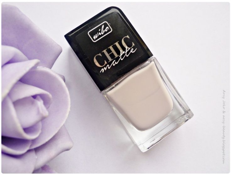 Wibo Chic Matte nr 2 Nails  #wibo #chicmatte #nails #paznokcie