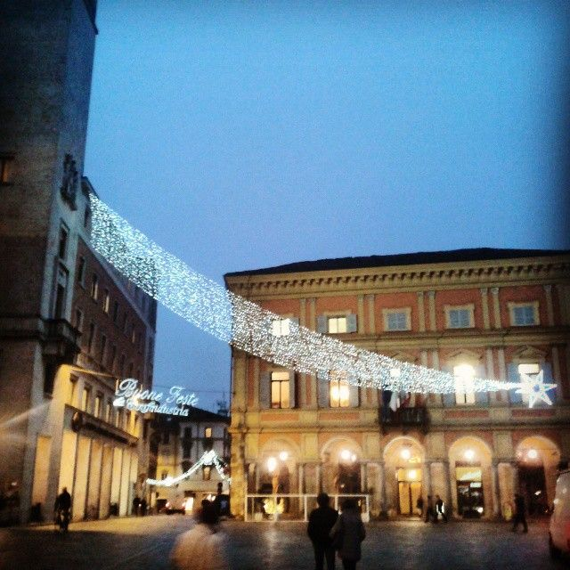 Un enorme stella cometa a #Piacenza