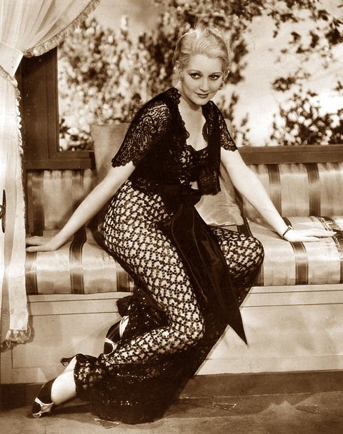 Thelma Todd, a 1932 publicity photo, from the files of the San Francisco Examiner.