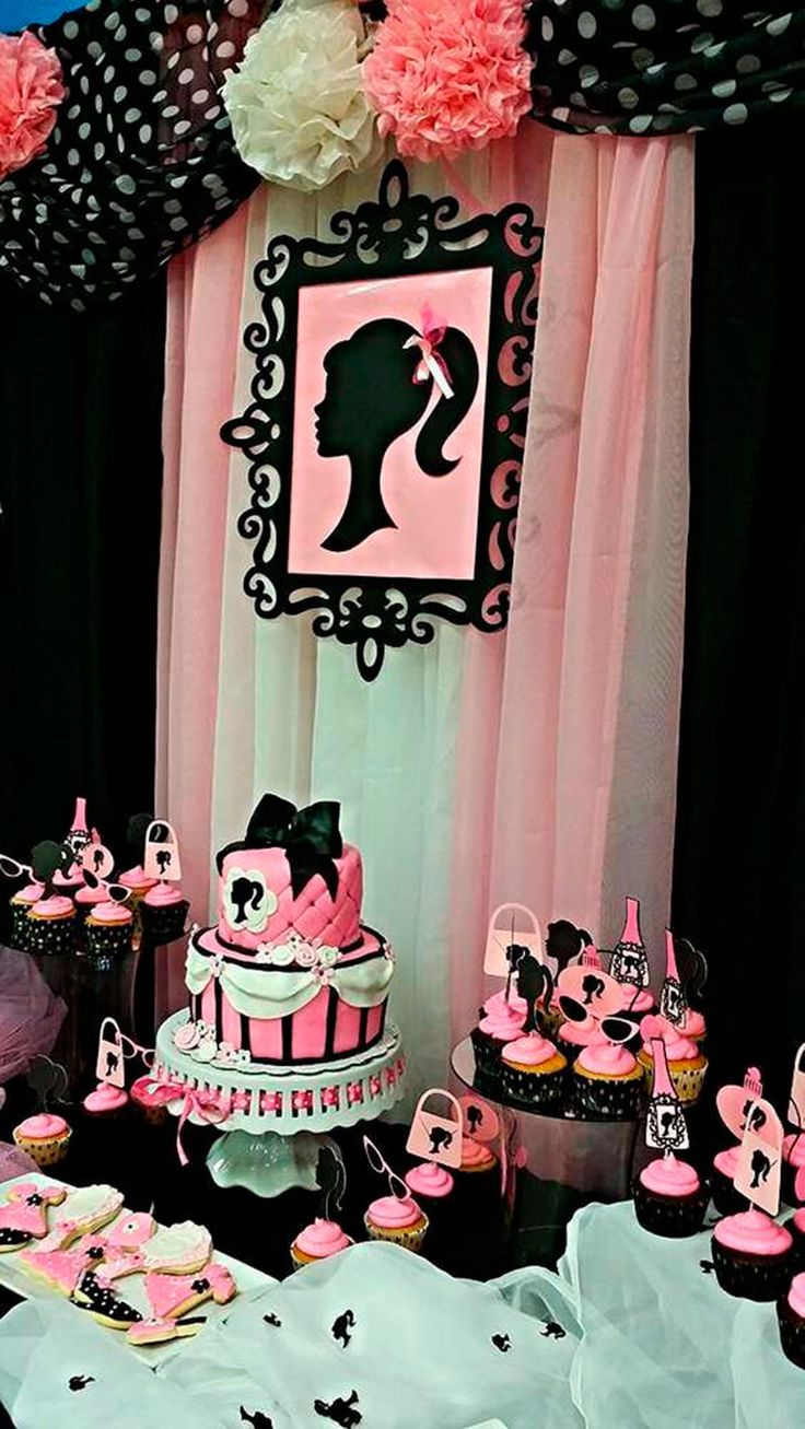Festa da Barbie: 33 ideias para arrasar na festa da sua filha