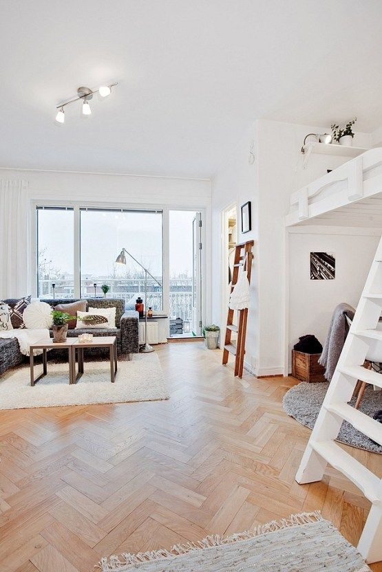Pisos decorados muebles ikea interiores espacios peque os for Decoracion interiores pisos pequenos