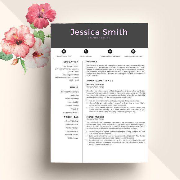 The 25+ best My resume ideas on Pinterest My cv, Graphic design - making your resume stand out