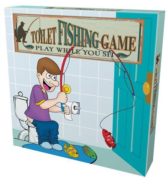 Toilet Fishing Game