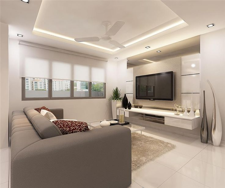 Definite Recessed Ceiling With Fan Ducted Air Indirect Lighting And Down Lights