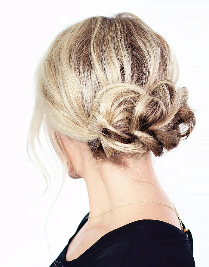 A Dutch Braid updo is on our holiday to-do list via @byrdiebeauty, photo credit: Twist Me Pretty