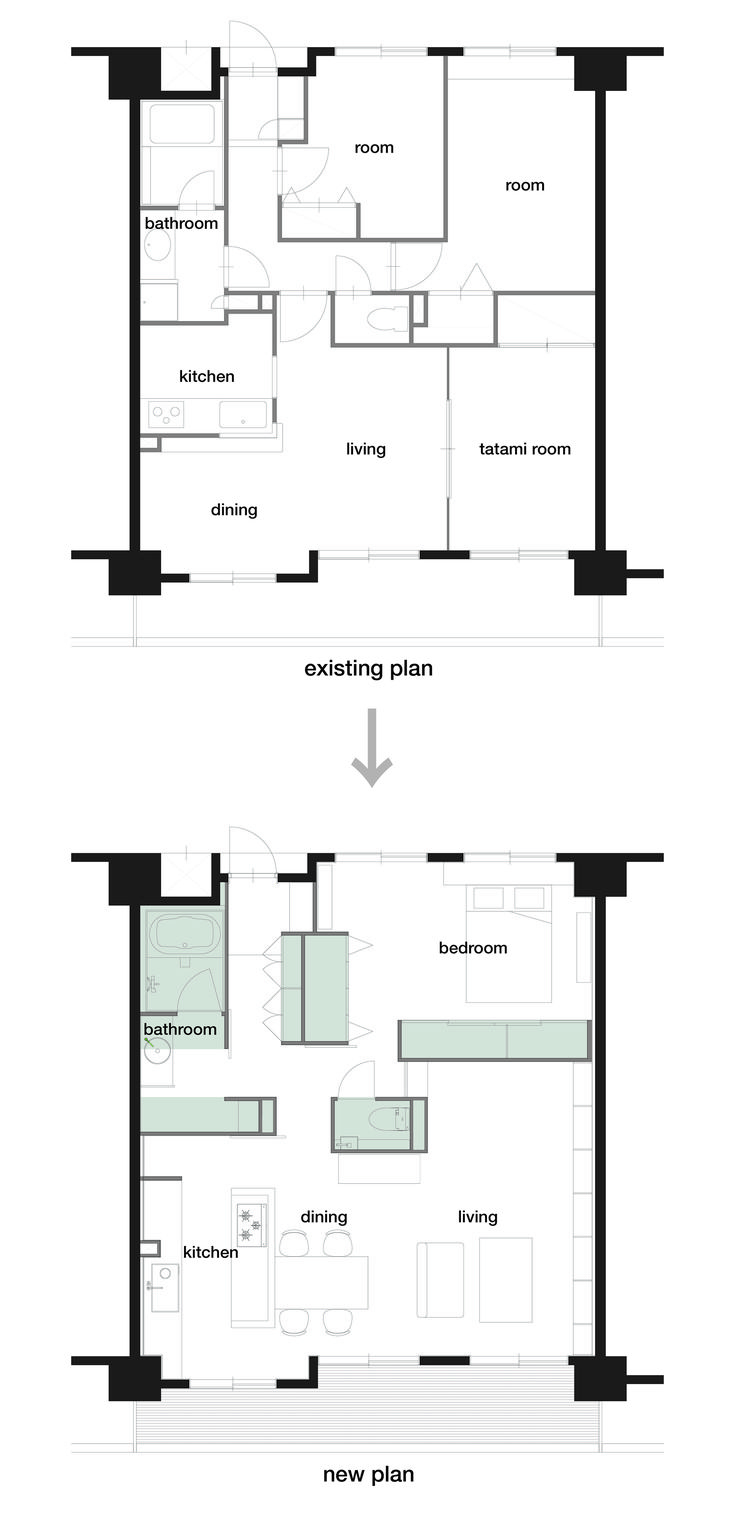 Image 17 of 17 from gallery of J House / Domino Architects. Plan