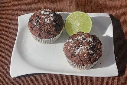 Schoko – Orangen – Muffins