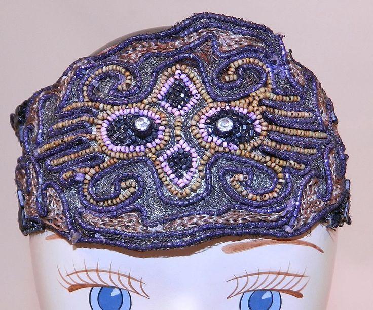 how to make a beaded flapper headband
