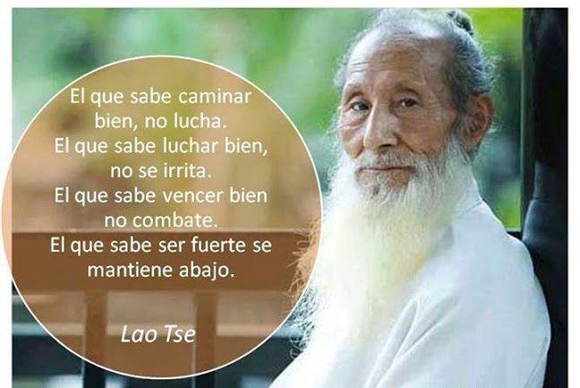 """""""El que sabe ser fuerte se mantiene abajo"""" Lao Tse"""