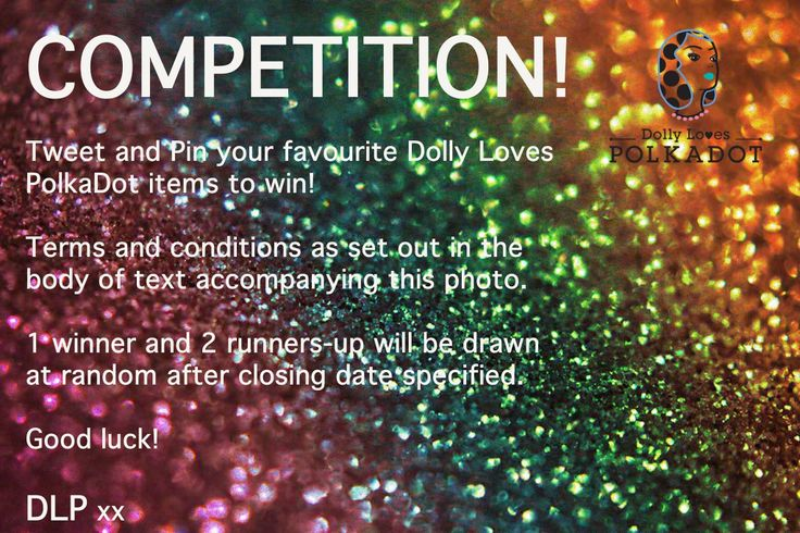 Who's up for a fabulous fun competition?     Win any Dolly Loves PolkaDot jewellery you like!    #competition #win #jewellery #give-away #fun #share