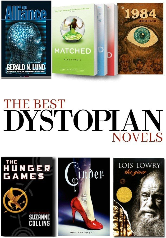 Need a new book to read? Look no further than this Best Dystopian Novels List! From the classics to the current popular best sellers, this list has them all