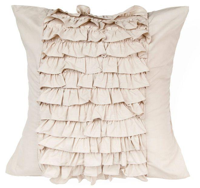 Deco Osmond European Pillowcase Linen and White