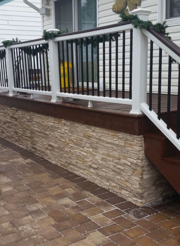 Quality Stone Stacked Stone Aspen Blend White Brown