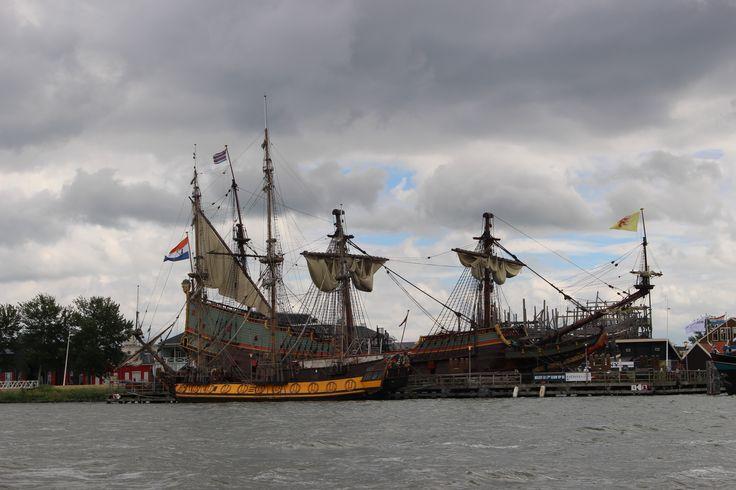 Bataviawerf in Lelystad, Flevoland