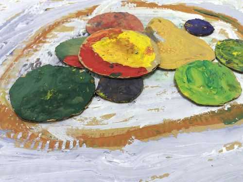Paul Cezanne  Kids ART Classroom ART project DIY with kids in KAVARDAK blog