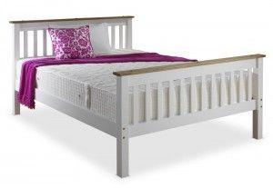Devonshire White Kingsize Bed Frame