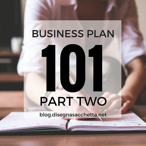 Business Plan 101 Part 2