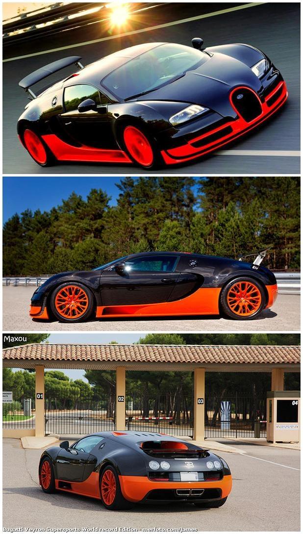 Bugatti Veyron Supersports World Record Edition
