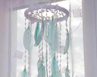 Luz púrpura púrpura de camas guardería móvil por MagicalSweetDreams