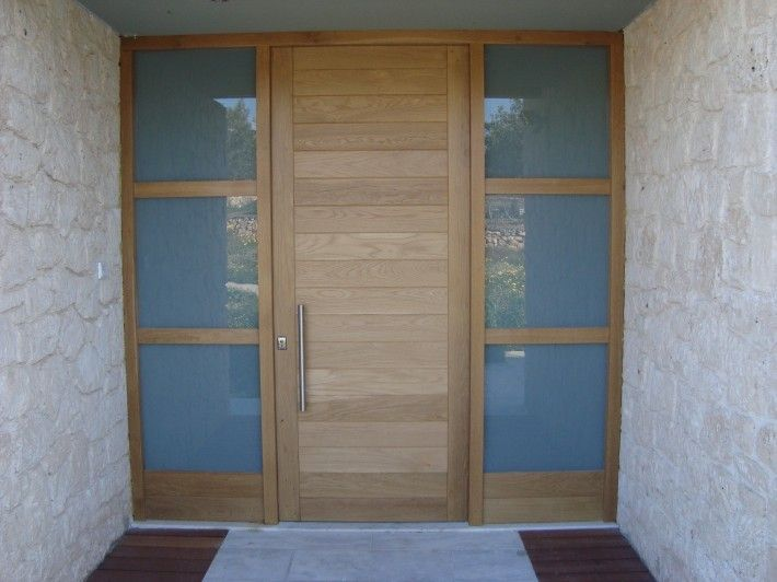 Modern wooden door | Artio - Shrink to make nice saloon door.