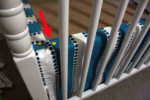 Crib Skirt Tutorial. A genius shortcut. So much easier than the last crib skirt I made.