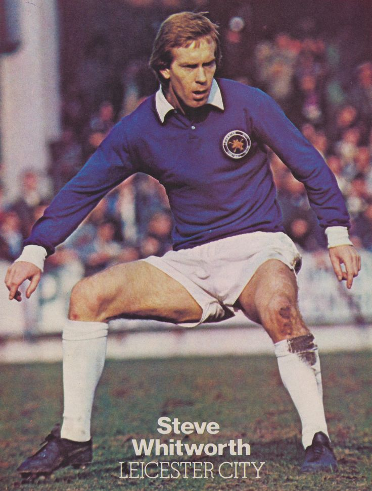 Steve Whitworth Leicester City 1976