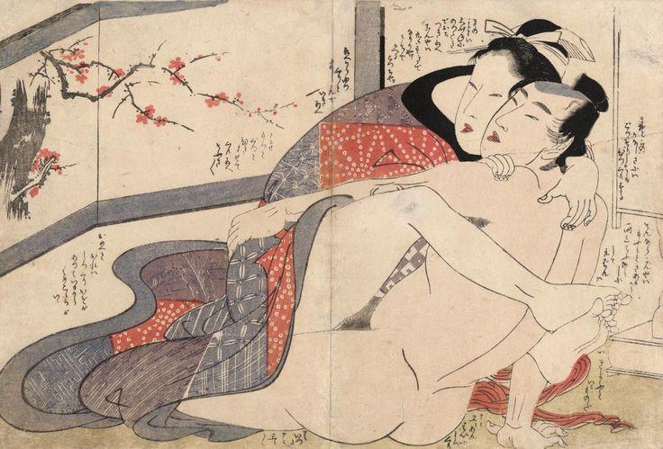 Utamaro, Shunga
