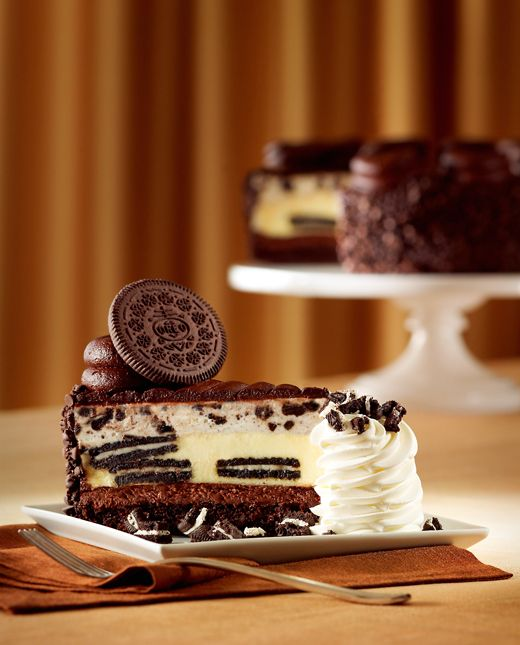 The new Oreo Dream Extreme Cheesecake from the Cheesecake Factory. (Photo courtesy of the restaurant)