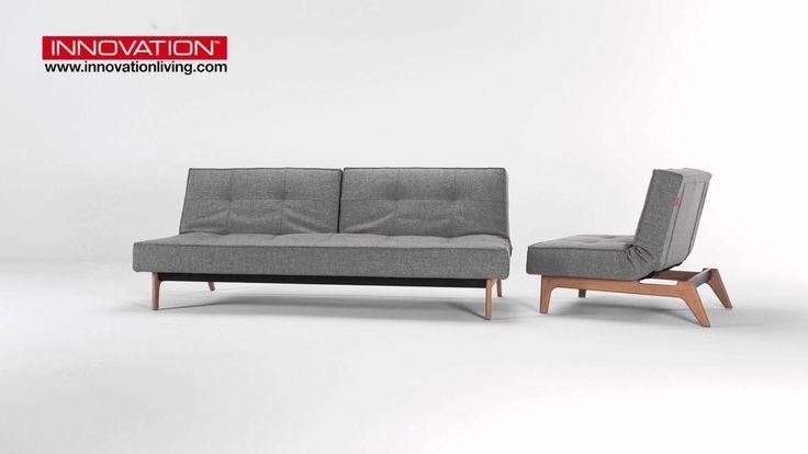 Splitback Eik sofa & chair