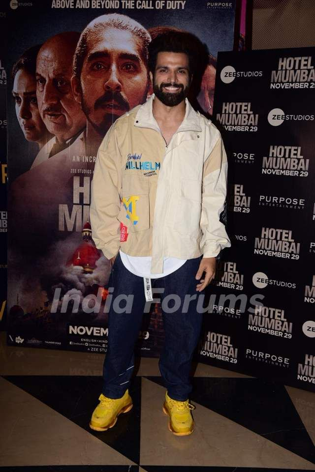 Celebs Papped At The Screening Of Hotel Mumbai Outfits