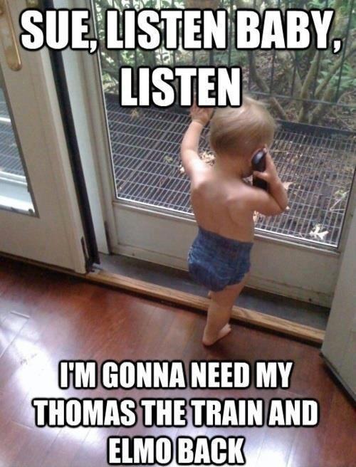 Sue, Listen Baby...: The Doctors, Funny Pictures, So Cute, Baby Memes, Funny Stuff, Funny Baby, So Funny, Baby Humor, Kid