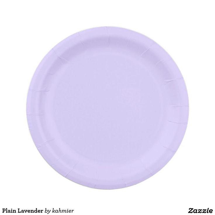 Plain Lavender Paper Plate | Anytime Party Supplies | Pinterest | Lavender  sc 1 st  Pinterest & Plain Lavender Paper Plate | Anytime Party Supplies | Pinterest ...