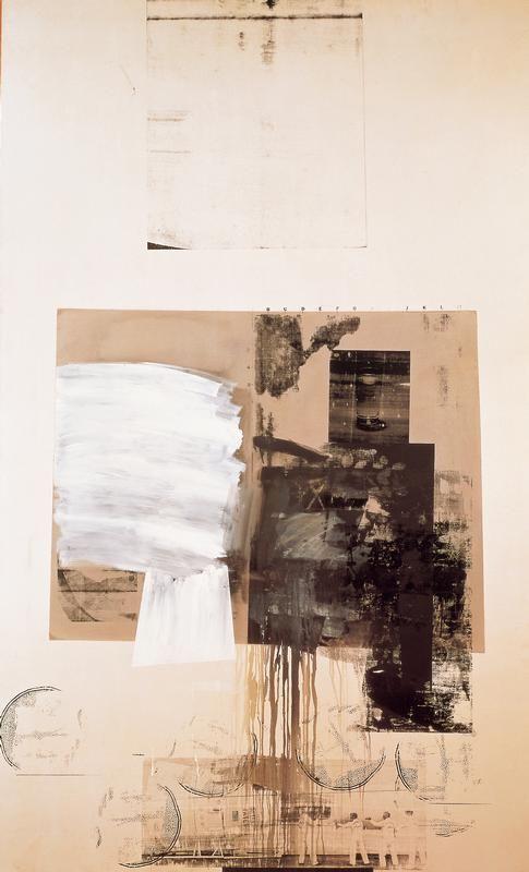 Robert Rauchenberg. (One of my favorite artists.)