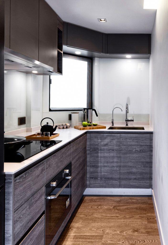 Most Updated 40 Stylish Kitchen Cabinet Design Ideas In 2021 Small Apartment Kitchen Decor Kitchen Decor Apartment New Kitchen Designs
