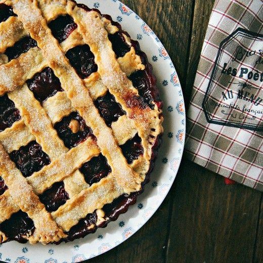 Рецепт - Классический вишневый пирог