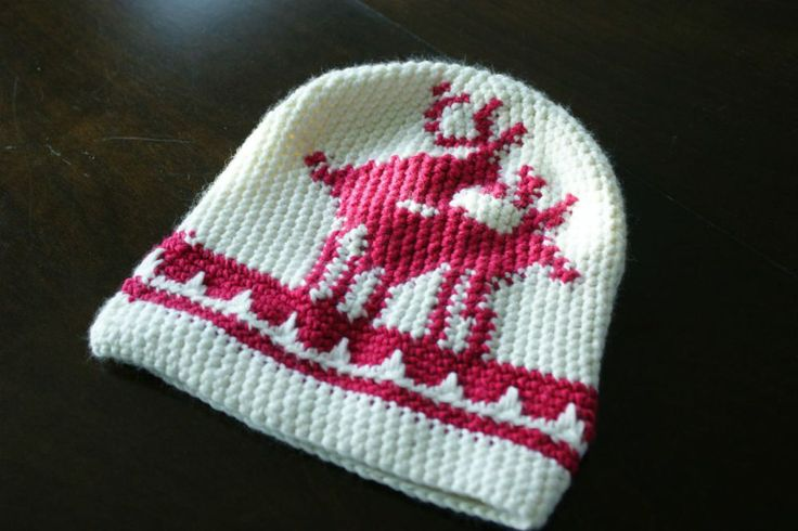 Don´t eat white snow either... #Crochet beanie #Hekledilla