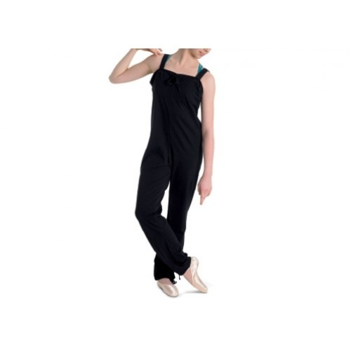 Bloch Croise Warm up  Ladies' loose warm up all-in-one tied at neck and hem.  Fabric :100% cotton sueded jersey   Colour: Black  Price: 25.70€