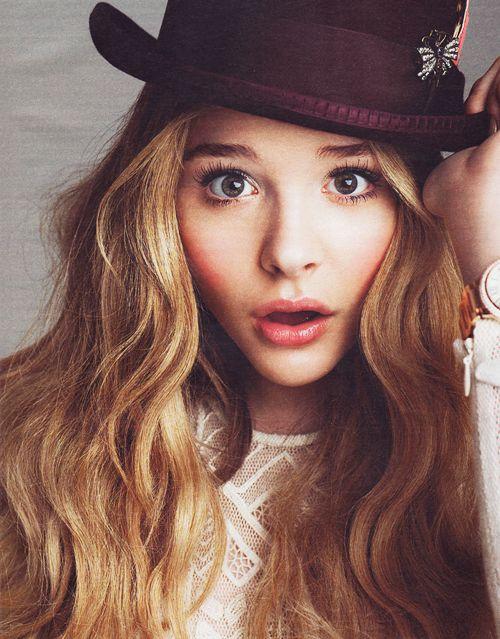 The hat?: Girl, Chloë Grace, Chloemoretz, Style, Chloe Moretz, Chloe Grace Moretz, Beautiful People, Hair, Has