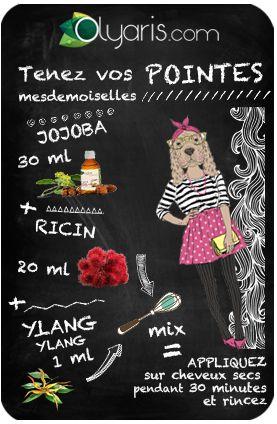 Vos pointes n'en font qu'à leur tête ? Alors essayez cette recette de grand-mère à l'huile végétale de jojoba et devinez un pro du domptage capillaire !