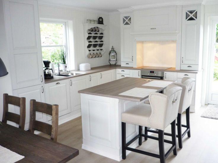 Kjøkken levert til enebolig på bygdøy. sigdal kjøkken modell lido ...
