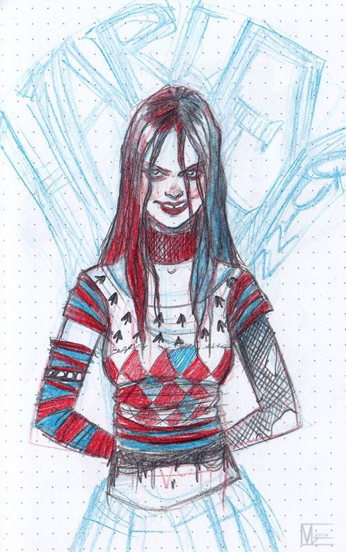 teen Harley Quinn