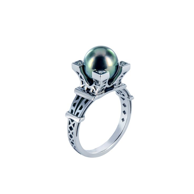 Bague French Kiss perle  #tournaire #jewels #jewelry #luxe #perle #pearl #bague #ring #FrenchKiss