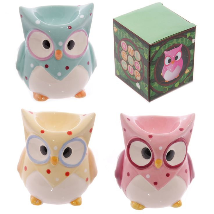 Ceramic Polka Dot Owl Egg Cup Each item is made from ceramics Each item is priced individually and comes in a Ted Smith designed gift box This item