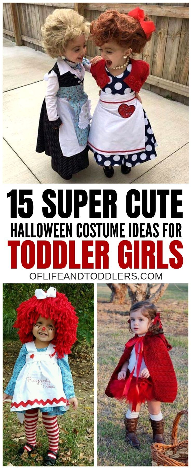 So Adorable Check Out These Super Cute Halloween Costume Ideas For Toddl Halloween Costume Toddler Girl Little Girl Halloween Costumes Cute Halloween Costumes