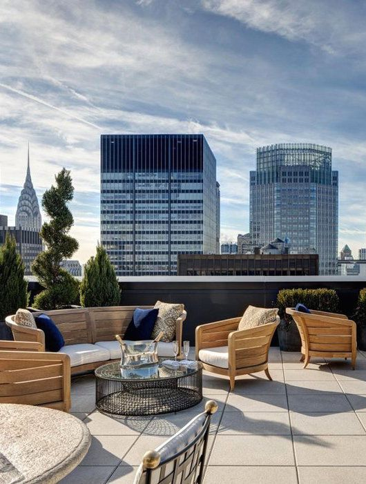 10 Most Beautiful Hotel Terraces In Nyc
