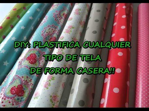 DIY: ¡Plastifica cualquier tipo de tela de forma casera! | Manualidades