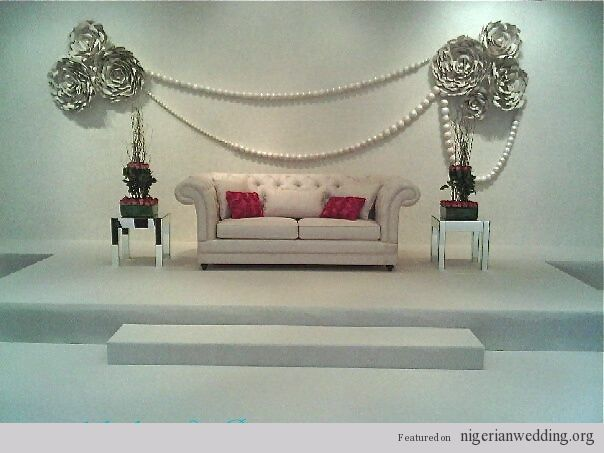 58 best nigerian wedding stages images on pinterest nigerian nigerian wedding sweetheart table ideas junglespirit Images
