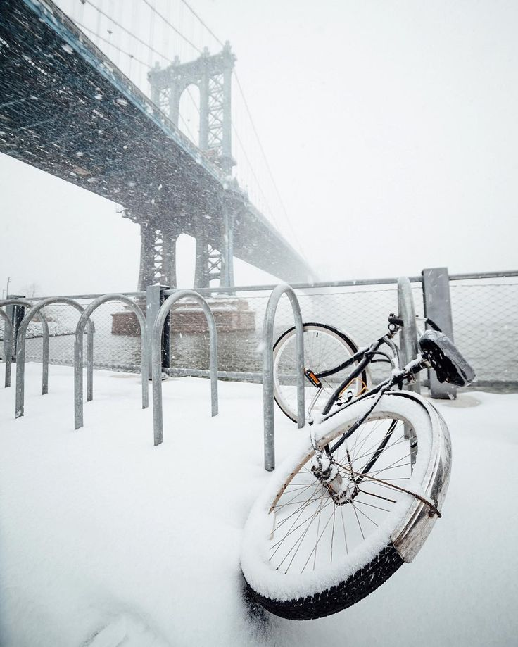Nuclear winter comes to Brooklyn by @nycneversleeps | newyork newyorkcity newyorkcityfeelings nyc brooklyn queens the bronx staten island manhattan