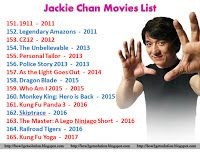 Jackie Chan Movies List, Martial Artist, Singer, Stuntman ...